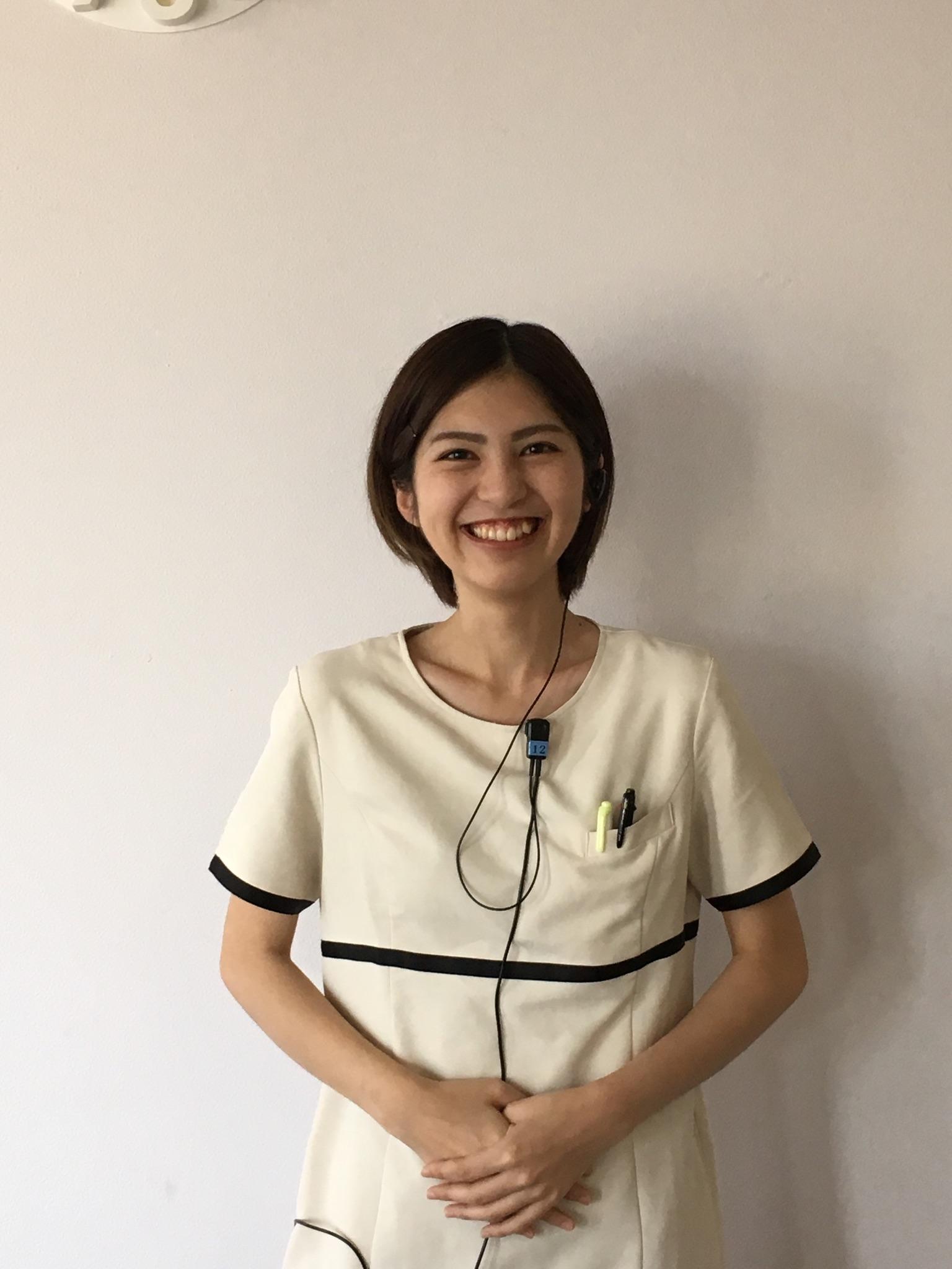 H29.5本名聡美さん正面写真①(佐倉ウェルネス歯科医院)